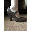 Кожаные туфли на каблуке Fellini