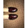 Модные Лоферы цвета бордо