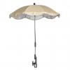 Зонт солнцезащитный для всех видов колясок.       Зонтик солнцезащитный крепится на все виды колясок.       Благодаря гибкому кр