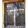 Металлические оконные решетки,    изготовление и установка решеток на окна.